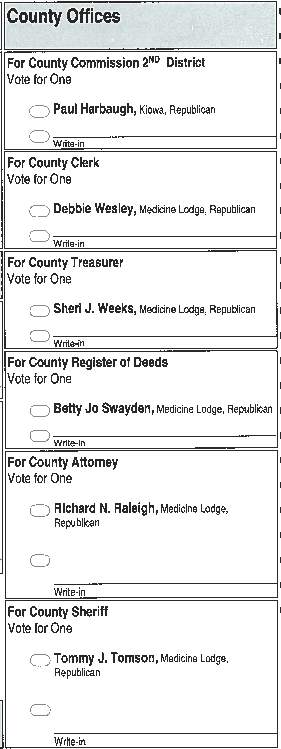 county choices