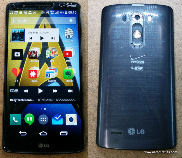 LG G3 is still the best phone on Verizon for the farm