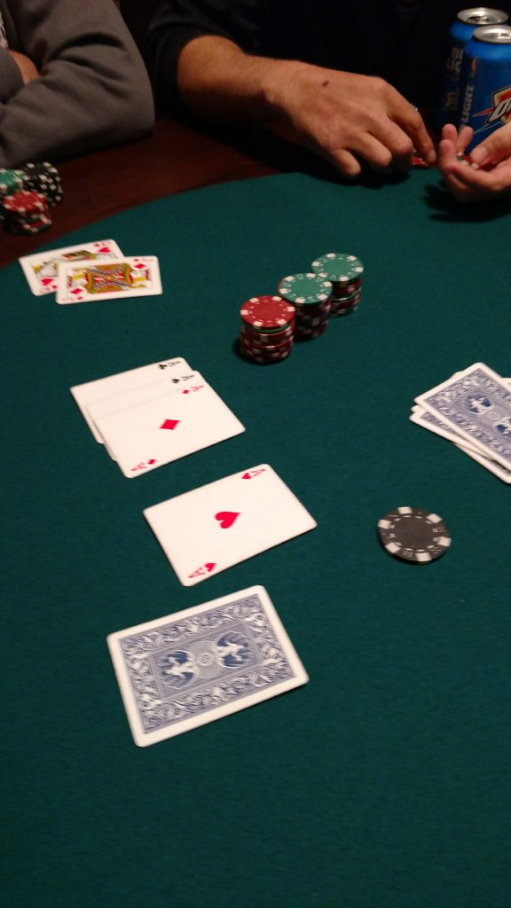 Never seen this hand in poker on the table before