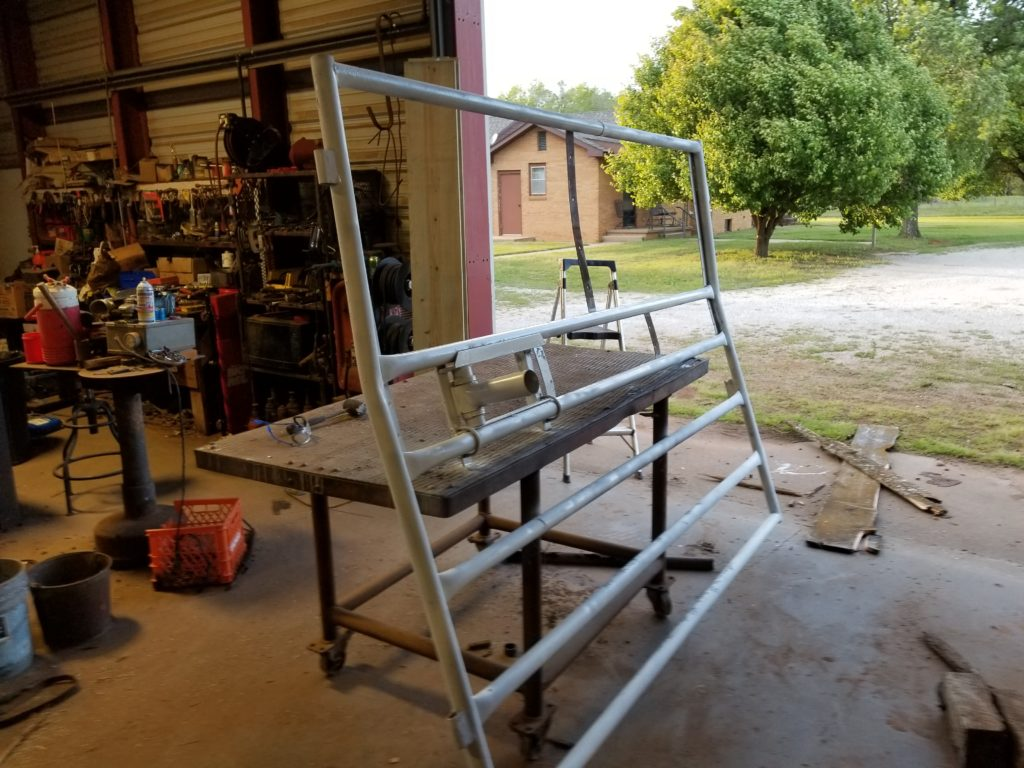 Refabricating the alley panel