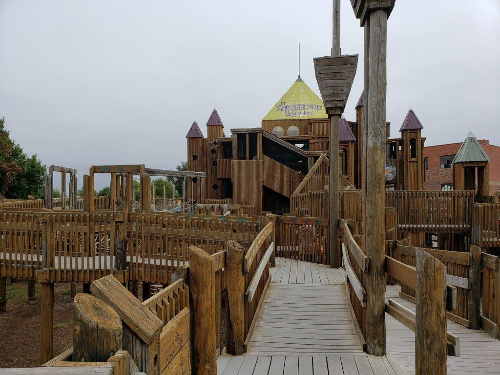 Adventure Quest structure at Leonardo's